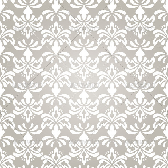 GraphicRiver Vector Seamless Vintage Wallpaper Pattern 3373397