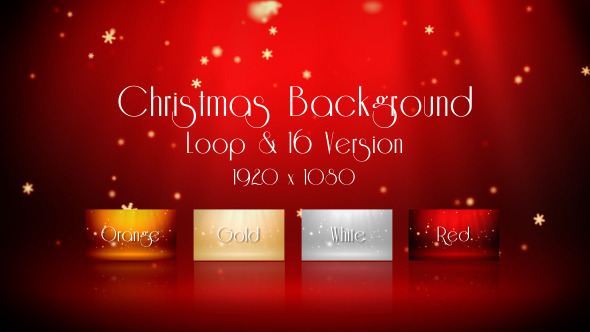 VideoHive Christmas Background 3373743
