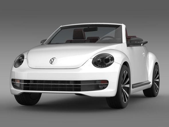3DOcean VW Beetle Cabrio sport 3373828