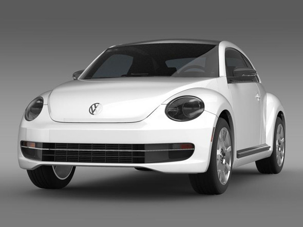3DOcean VW Beetle Design 3373840