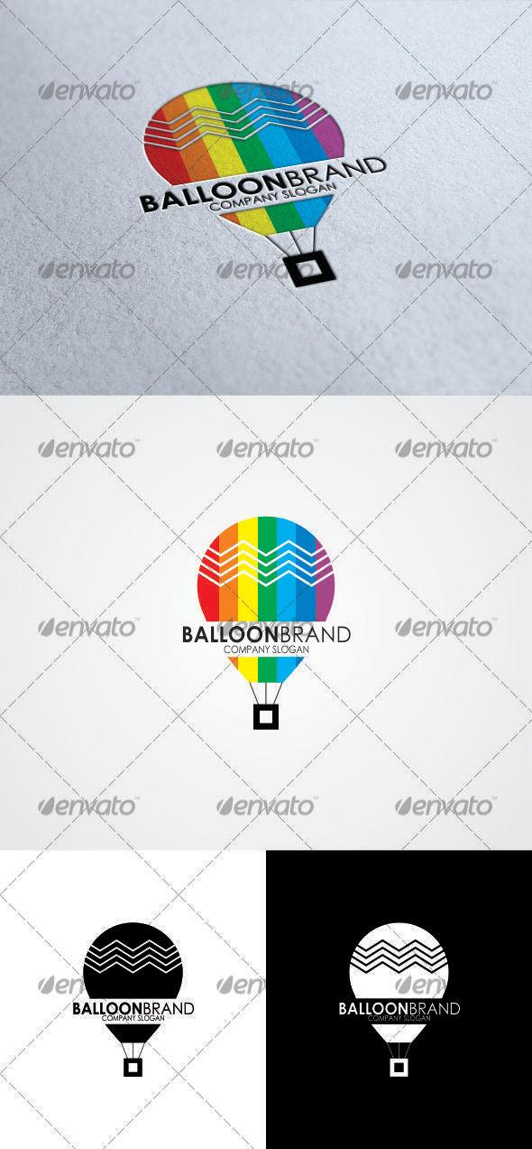 GraphicRiver Baloon Brand Logo 3374379
