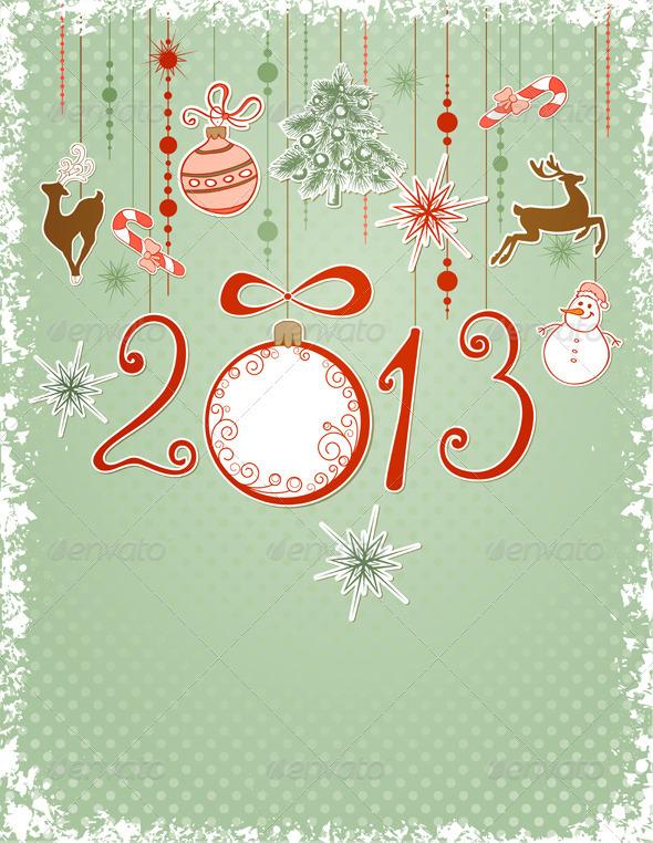 GraphicRiver Christmas Card 3374983