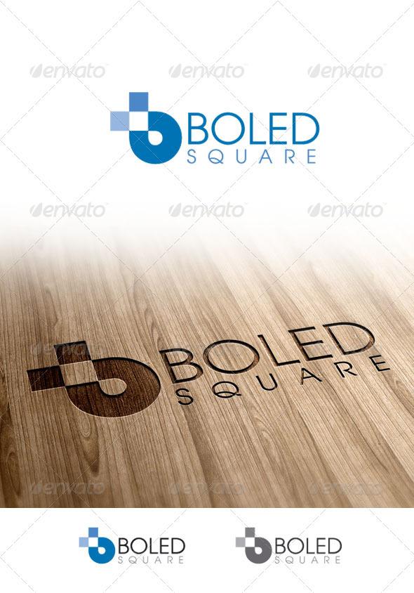 GraphicRiver Boledsquare Logo 3375232