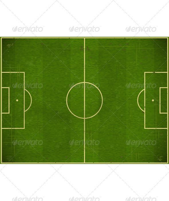 GraphicRiver Soccer field 3375278