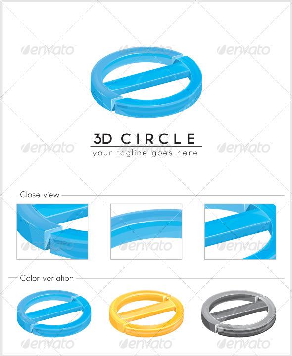 GraphicRiver 3D Circle Logo 3366465
