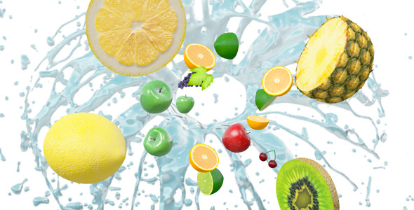VideoHive Fruity Logo Reveal 3375670