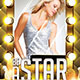 Be A Party Star Flyer Template - GraphicRiver Item for Sale