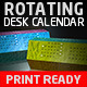 Rotating Desk Calendar - GraphicRiver Item for Sale