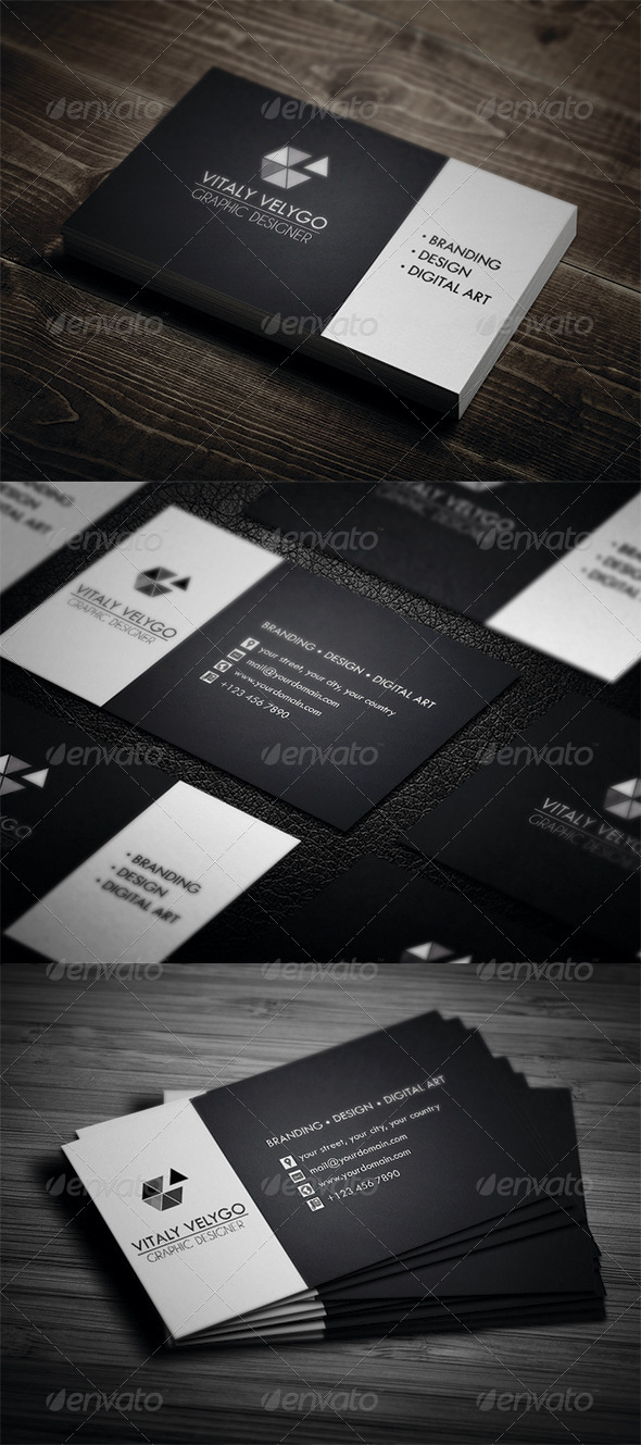 GraphicRiver Personal Business Card 3361186
