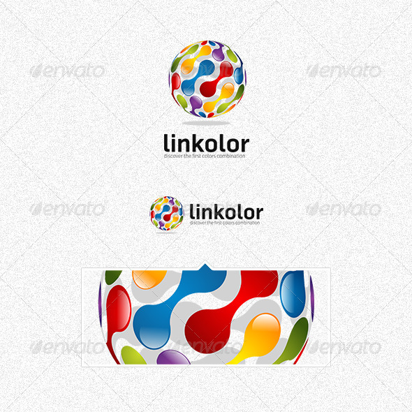 GraphicRiver Linkolor Logo 3370402