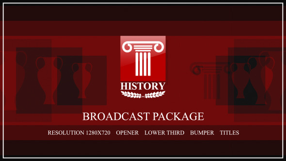 VideoHive History broadcast package 3376293