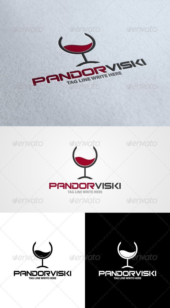 GraphicRiver Cocktail Bar Logo 3376304