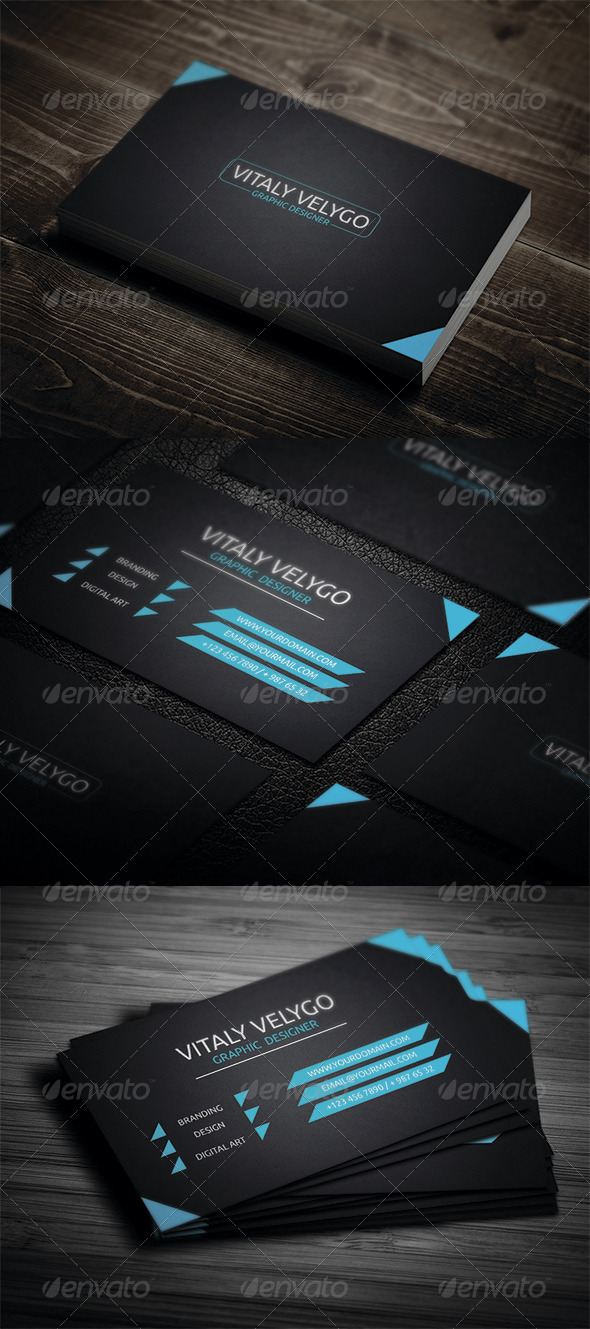 GraphicRiver Corporate Business Card 3362678