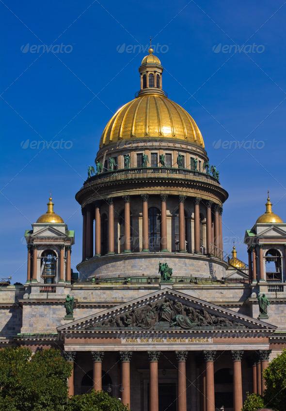 Isaakievskiy Sobor - Stock Photo - Images