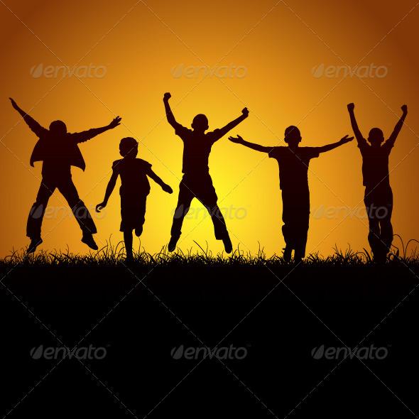 GraphicRiver Joy Of Children 3331815