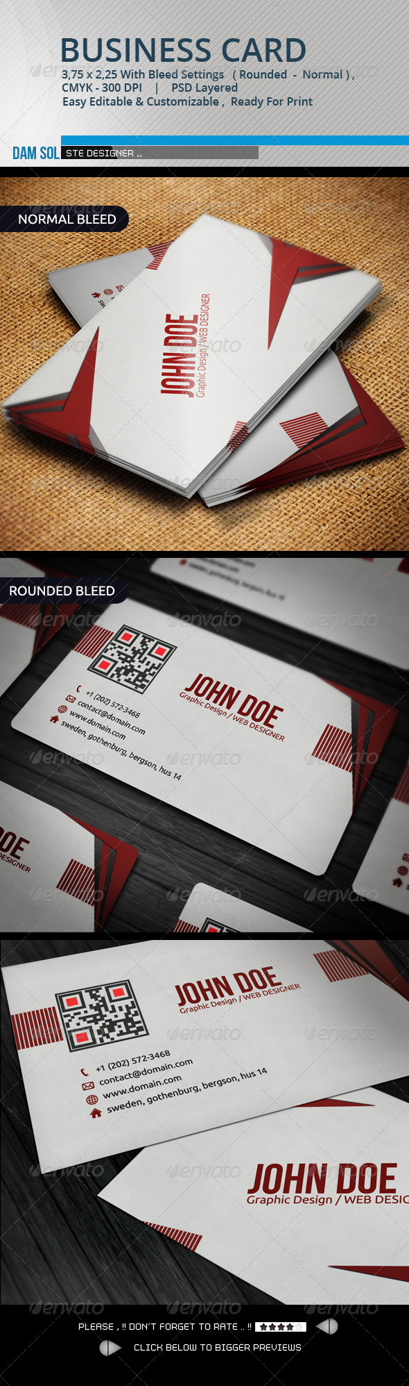 GraphicRiver Creative Business Card 3377716
