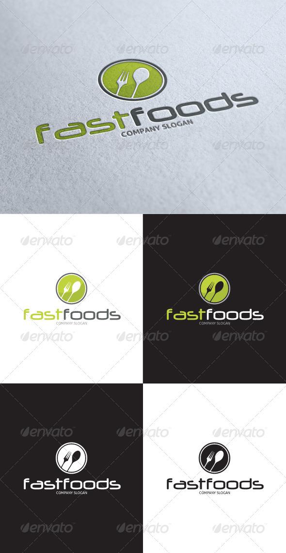GraphicRiver Fast Foods Logo 3377807