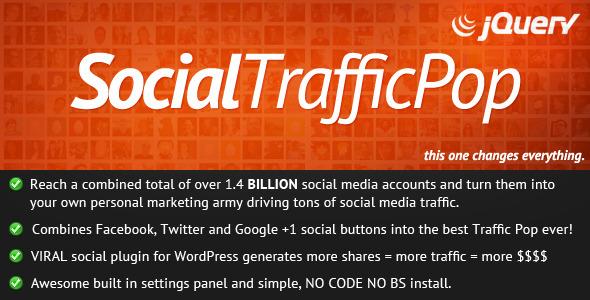 CodeCanyon Social Traffic Pop 364259