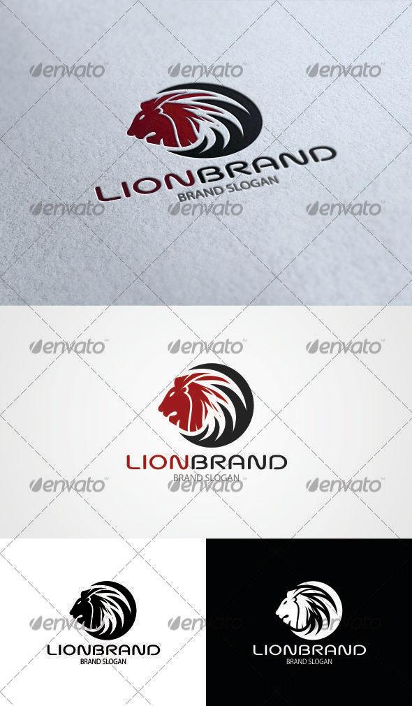 GraphicRiver Lion Brand Logo 3380168