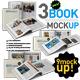 Book Mock Up Pack - GraphicRiver Item for Sale