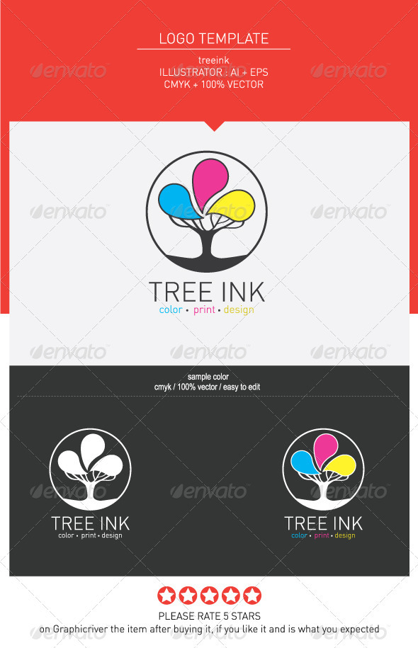 GraphicRiver Tree ink 3371649