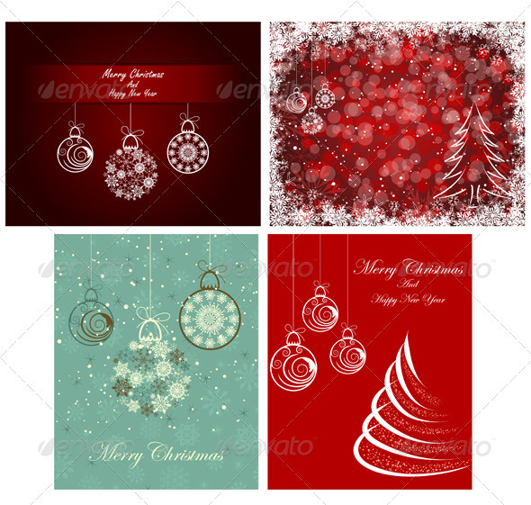 GraphicRiver Christmas Card 3339263