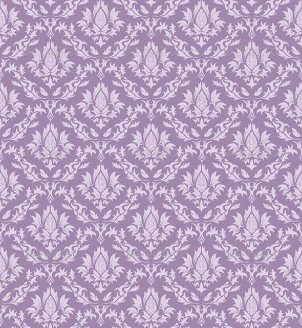 GraphicRiver Seamless Damask Pattern 3327605