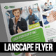 Lanscape Corporate Flyer - GraphicRiver Item for Sale