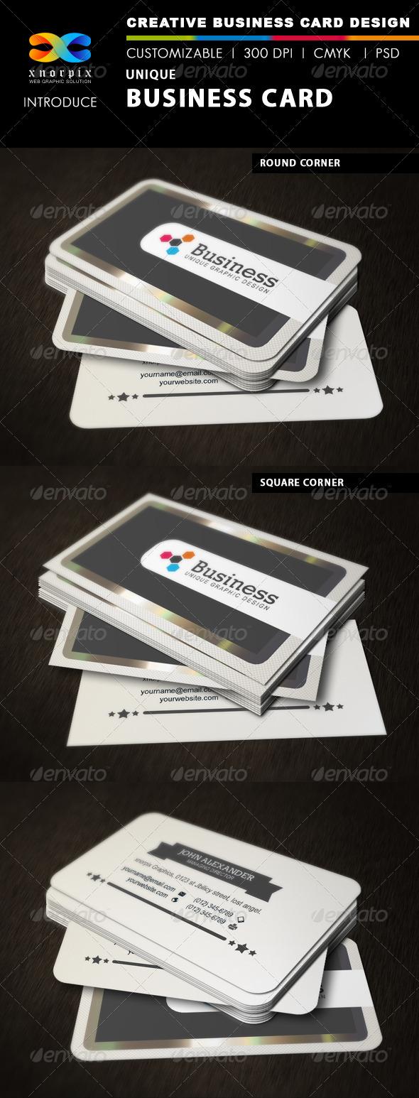 GraphicRiver Business Card 3383637