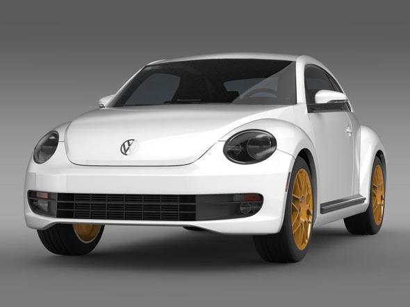 3DOcean VW Beetle RS 2012 3383980