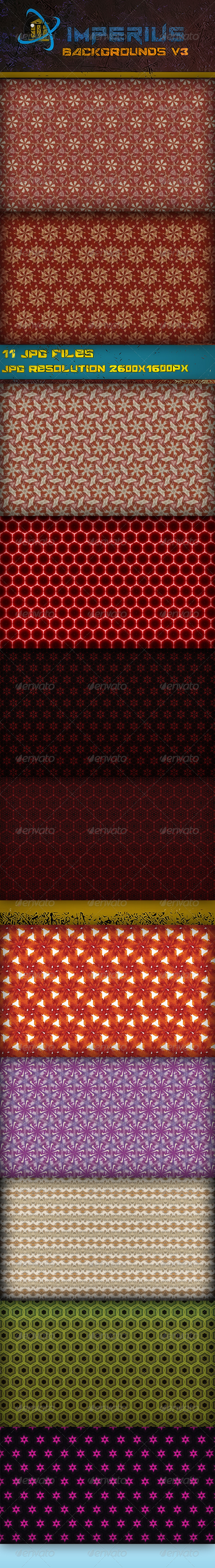 GraphicRiver Backgrounds V3 3383994