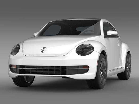 VW Beetle TDI 2013   - 3DOcean Item for Sale