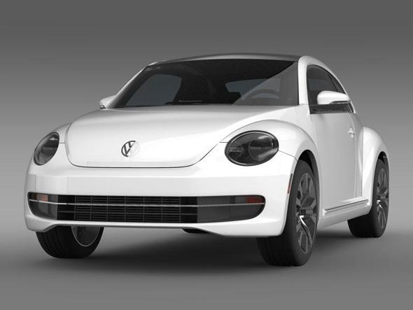 3DOcean VW Beetle TDI 2013 3384045