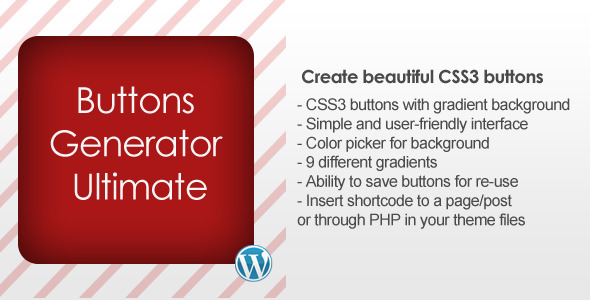 CodeCanyon Buttons Generator Ultimate 3346913
