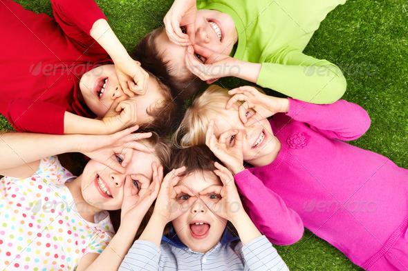 PhotoDune Funny kids 364818