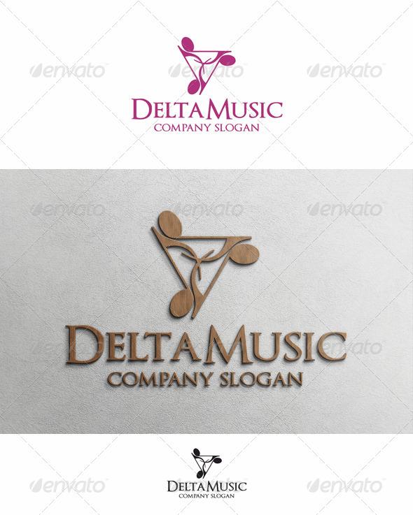 Delta Music - Symbols Logo Templates
