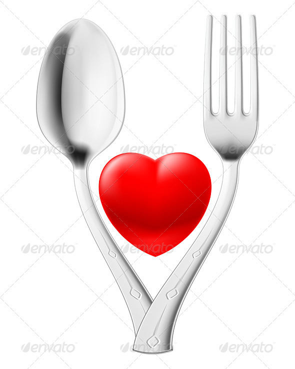 GraphicRiver Spoon and fork 3386341