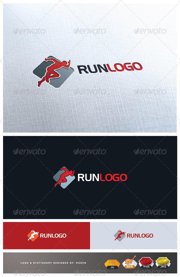GraphicRiver Run Logo 3386343
