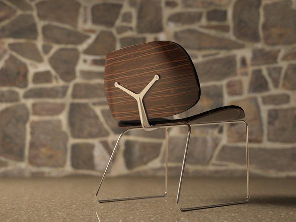 3DOcean The Parri Blob Chair Model 3386416