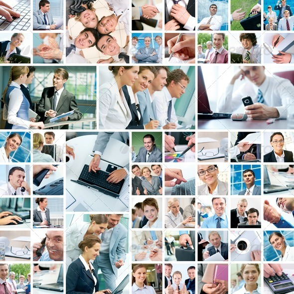 Business moments - Stock Photo - Images