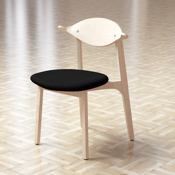 The Vivero Bird Chair Model - 3DOcean Item for Sale