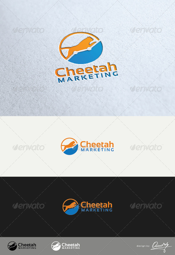 GraphicRiver Cheetah Marketing Logo Template 3339250