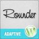 Rounder: Multi-Purpose Adaptive Wordpress Theme