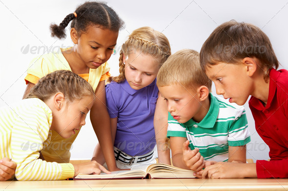 Reading - Stock Photo - Images