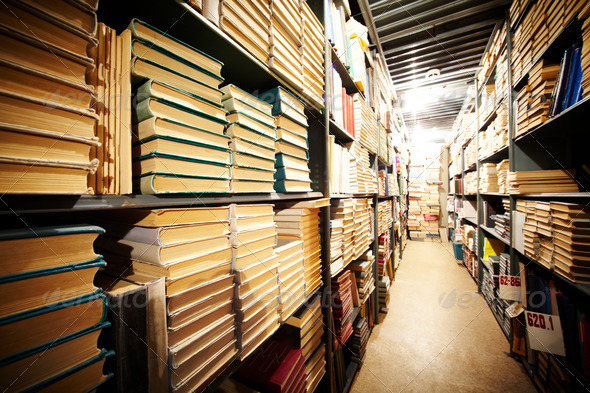 PhotoDune Library stand 365231