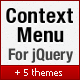 jQuery Context Menu Plugin - CodeCanyon Item for Sale