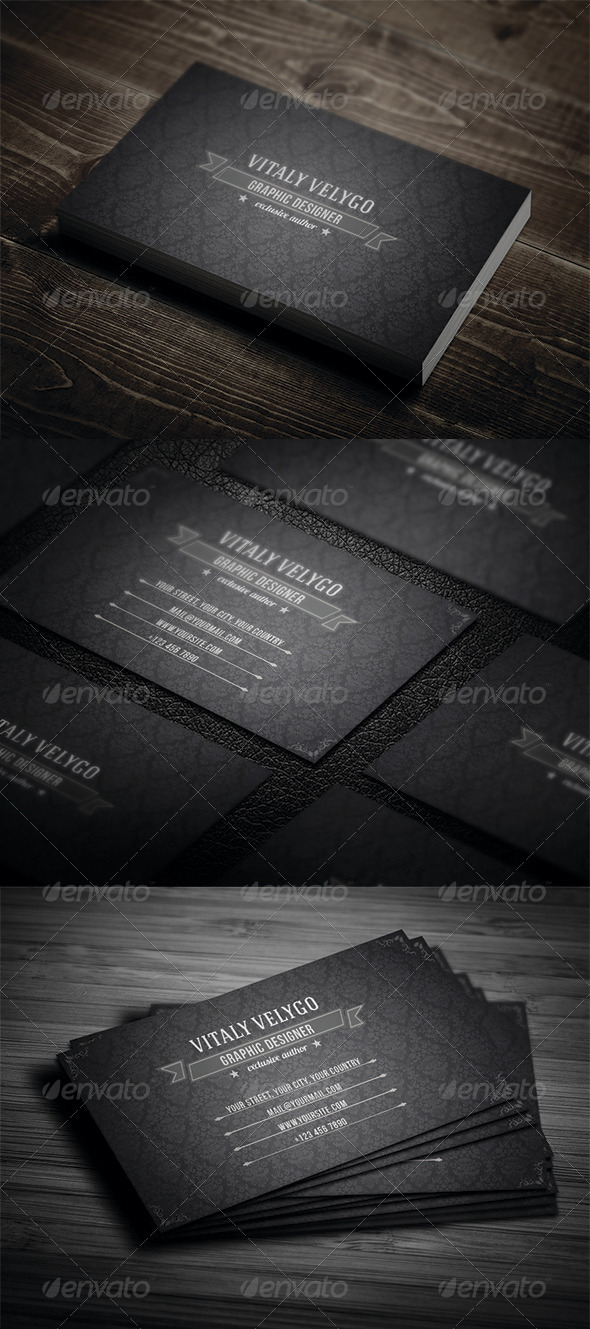Vintage Business Card N3 - Retro/Vintage Business Cards