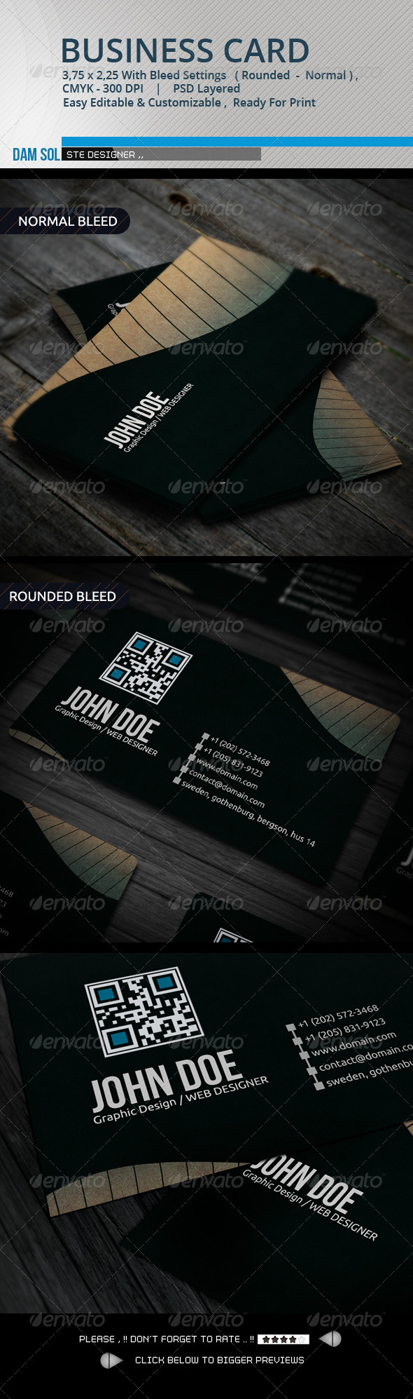 GraphicRiver Creative Business Card 3388767