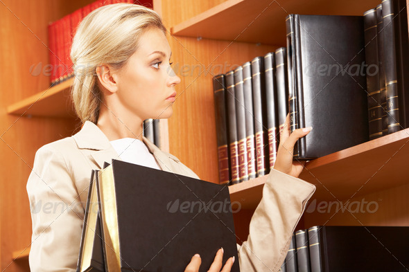 Preparing for seminar - Stock Photo - Images