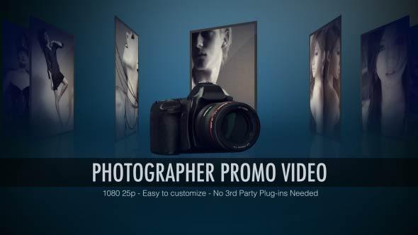 VideoHive Photographer Promo Video 3358262